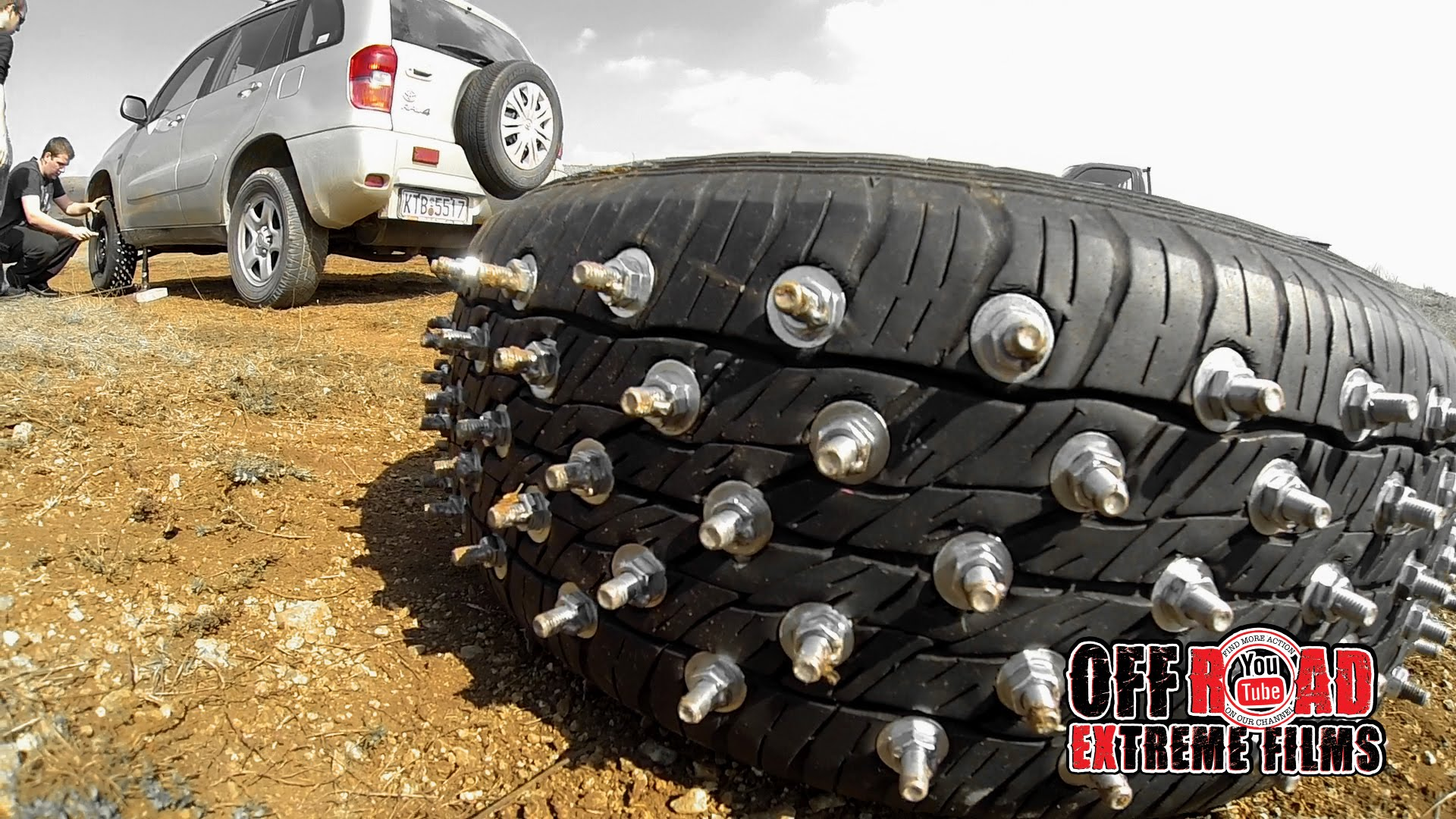 off road fun with studded tires Part I