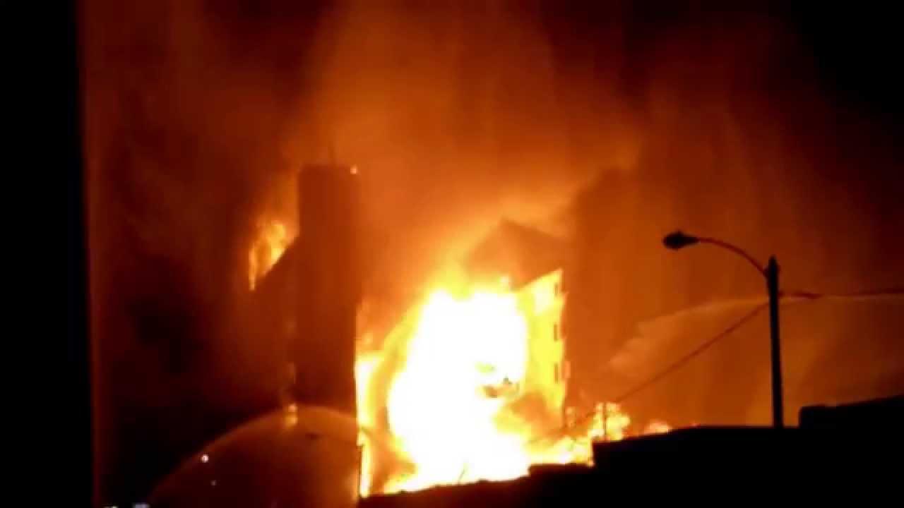 Sandone Tire Warehouse Fire