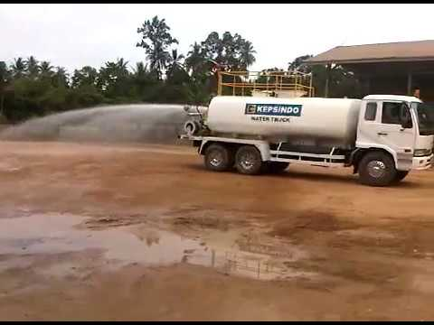 WATER TRUCK SERVICE ON SITE