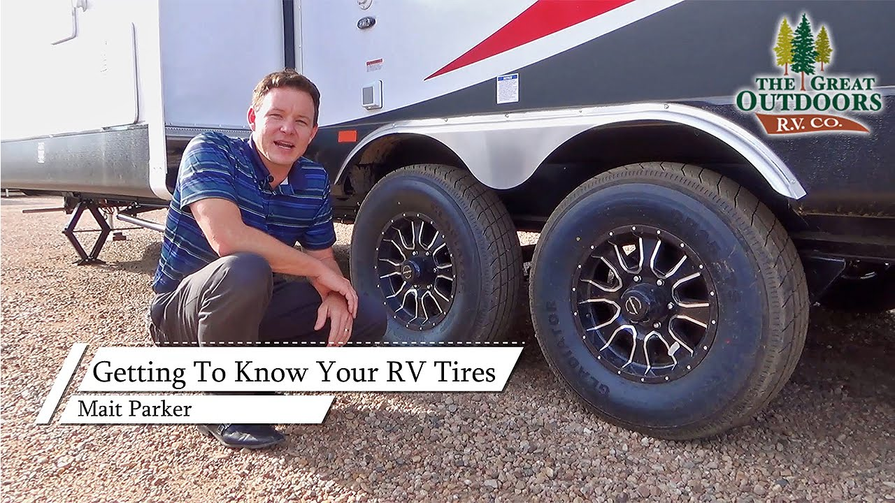 RV Trailer Tires: Tips & Safety