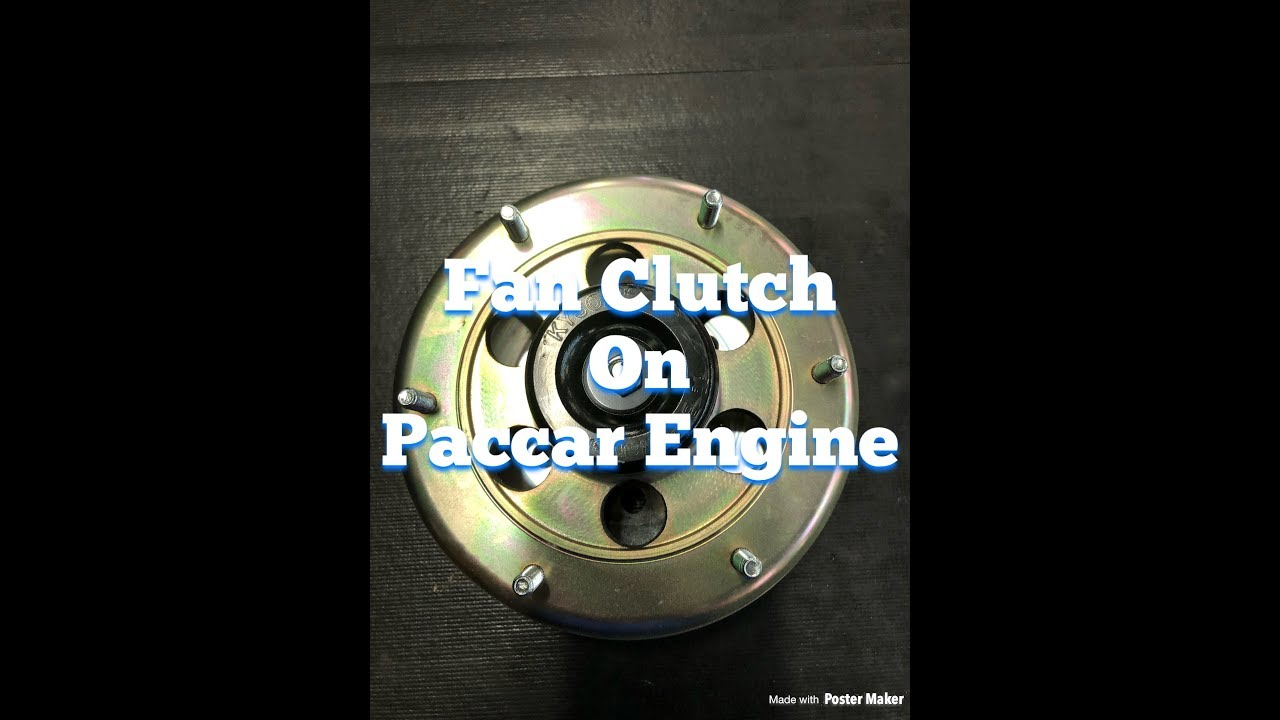 DIY Fan Clutch Replacement On A Paccar Engine. A Step By Step Guide, How To Remove and Replace It