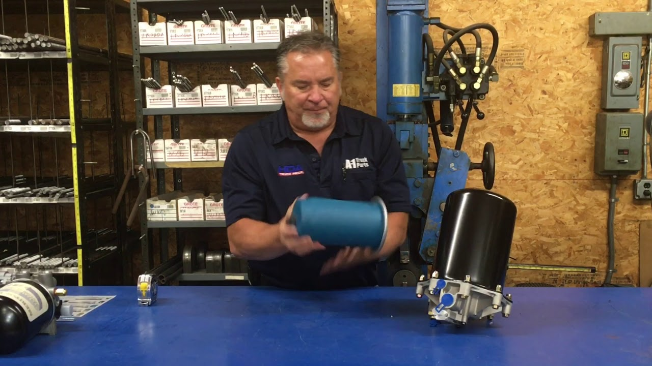 How to Identify an Air Dryer & Cartridge for Commercial Trucks