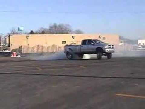 Dodge Burn Out, CUMMINS DUALLY