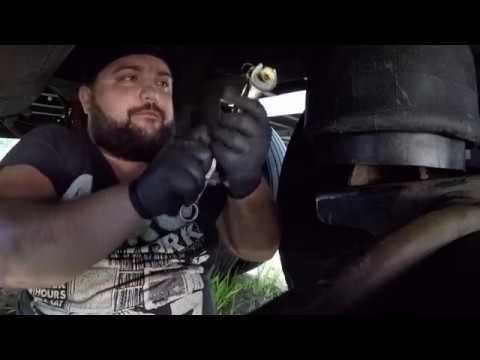 How to replace airbag on semi trailer