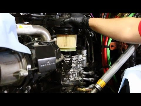 semi truck fuel filter replacement
