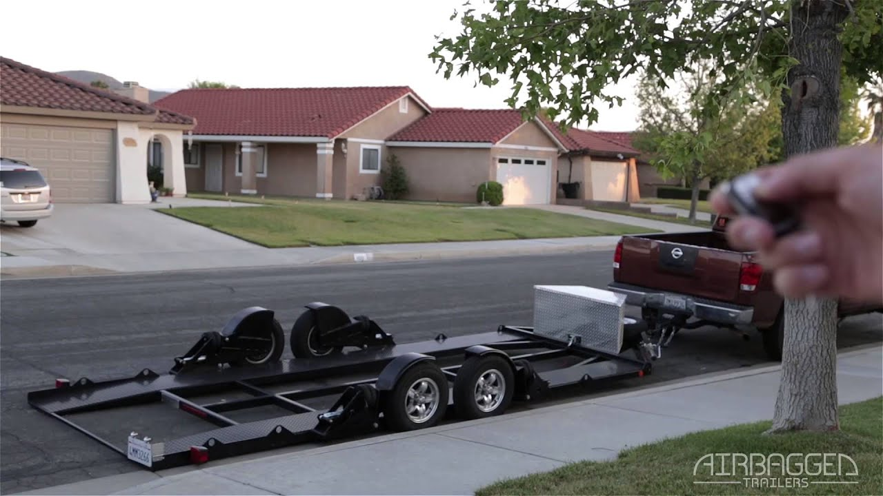 Airbagged Trailers - Remote airbag control