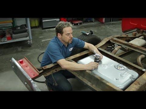 semi truck fuel tank repair