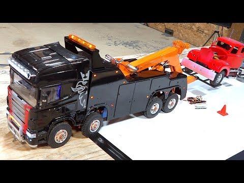 tow semi truck repair