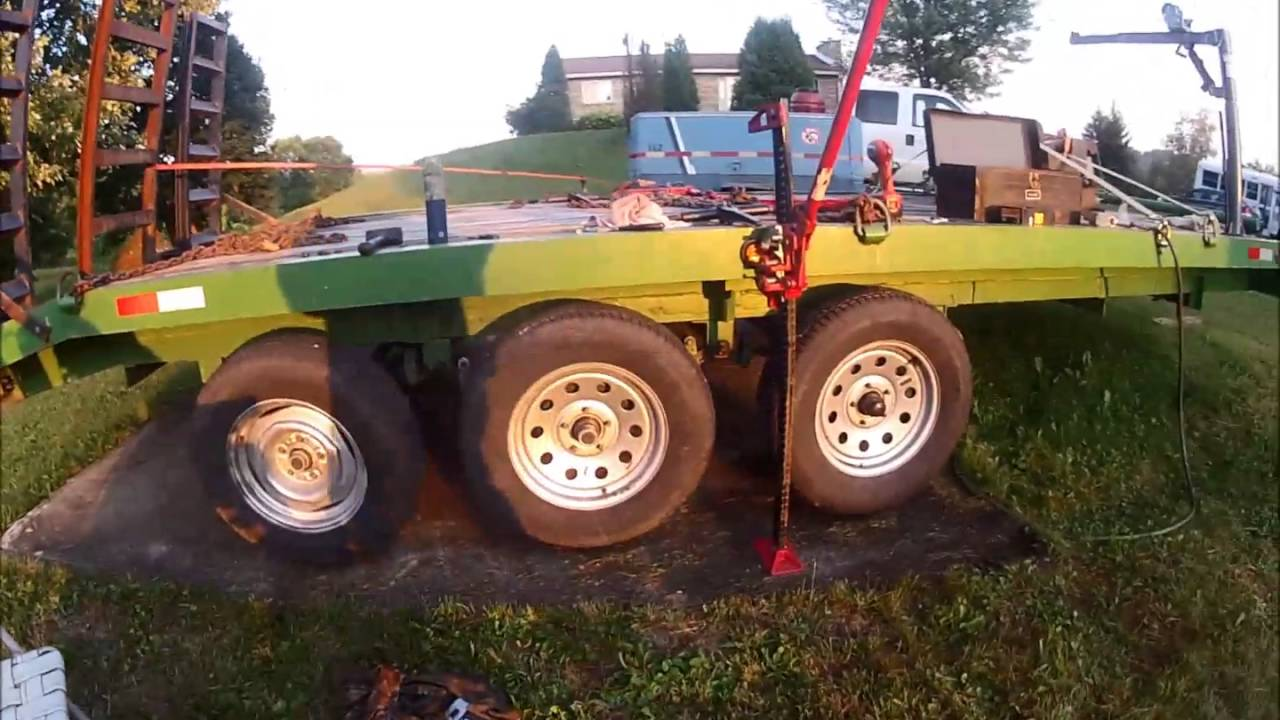 Ingersol Rand Compressor and trailer tires