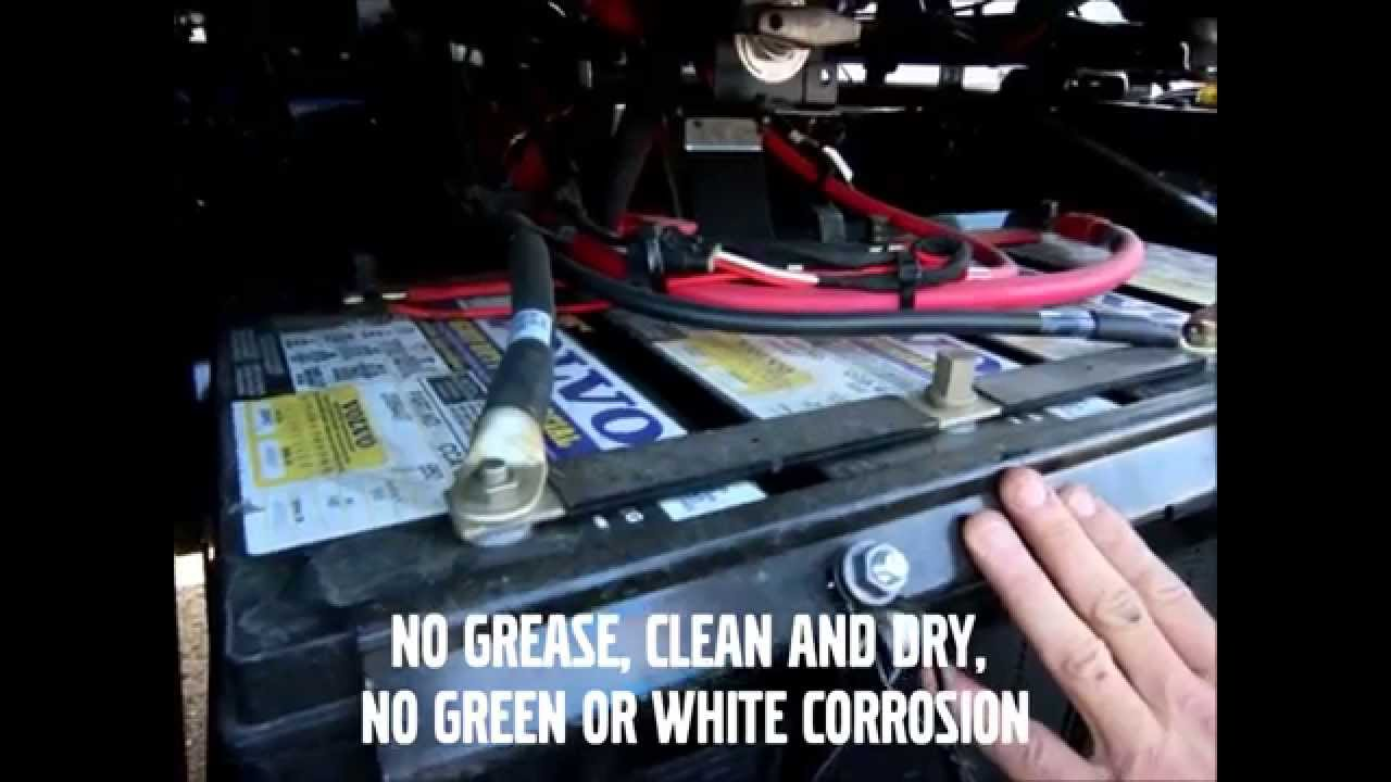 Volvo Truck Battery Maintenance