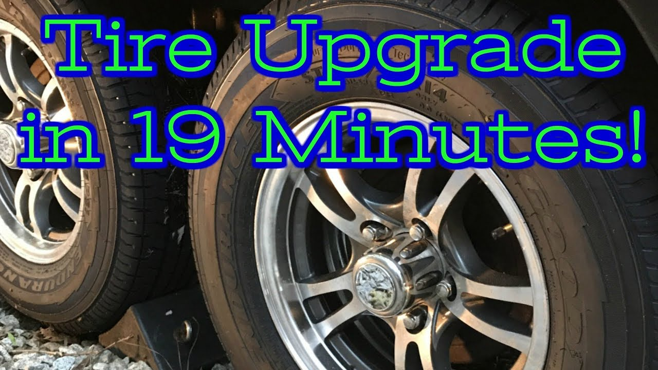 4 New Tires in 19 minutes?!?! Goodyear Endurance Tire Upgrade