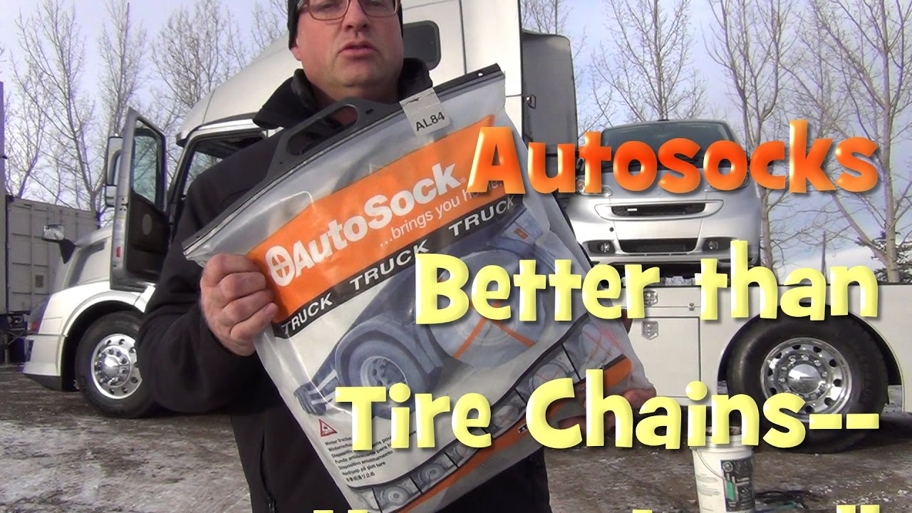 How to Install Autosocks on your RVHauler Motorhome or Truck