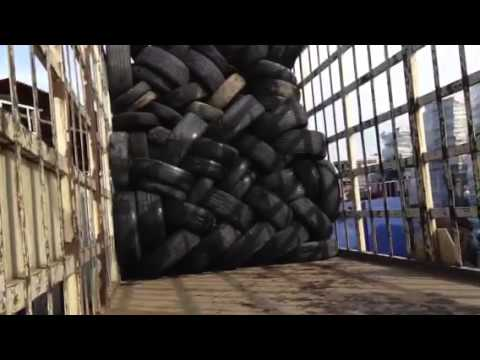 How to stack tires