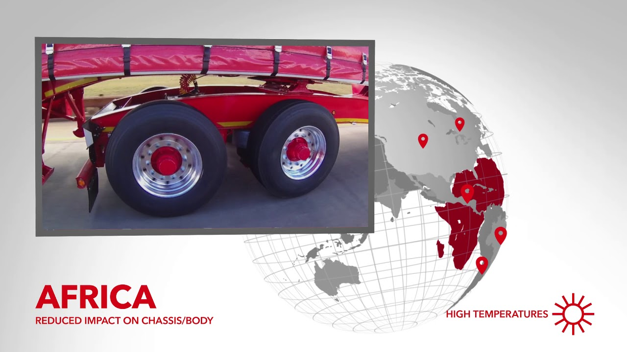 Firestone Industrial Products: Air Damping Technology for Commercial Trailers