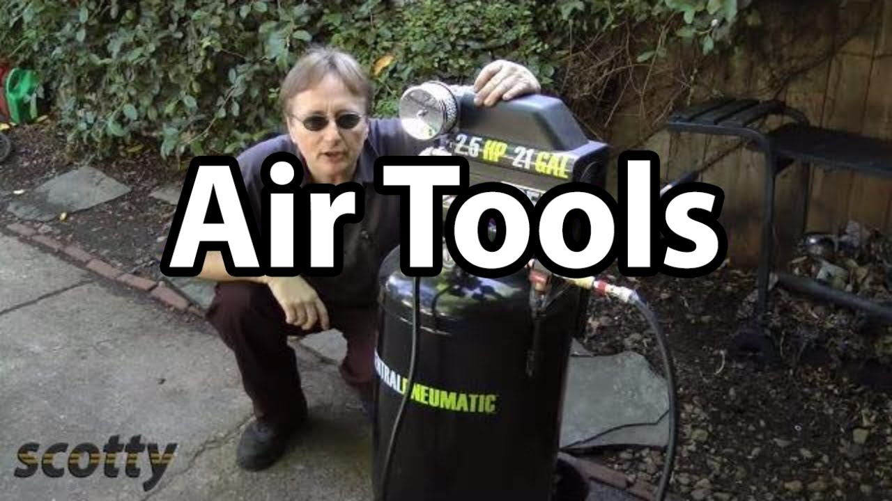 How To Use Air Compressors And Air Tools For Car Repair