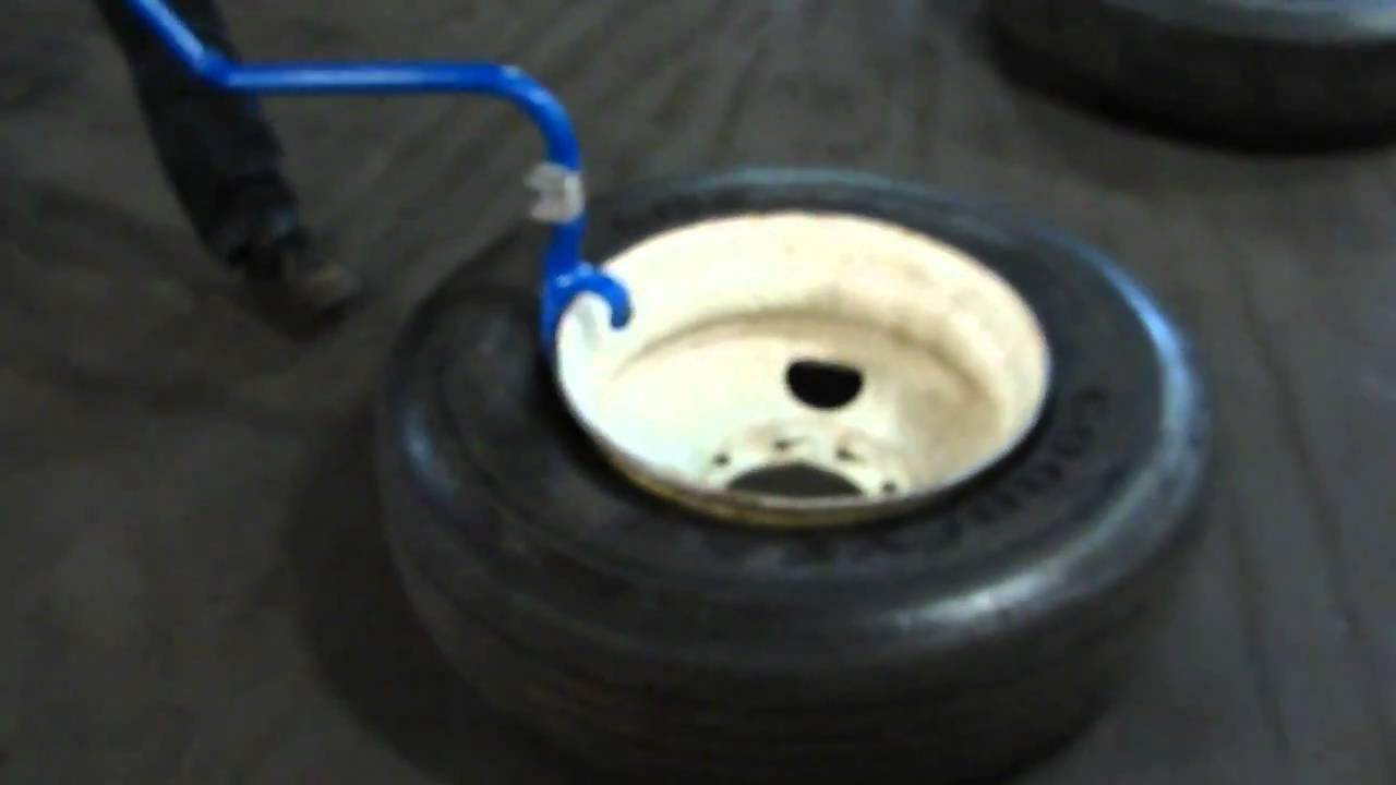 Demount 4 truck tires in 90-seconds using Ken-Tool's new Blue Cobra!