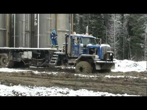 semi truck snow tires