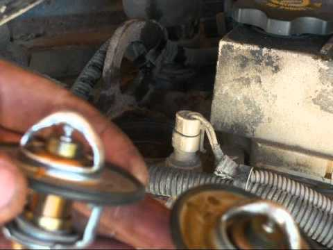 semi truck thermostat replacement