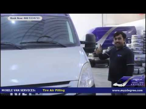 ZDEGREE Mobile Tire Fitting and Repair - UAE