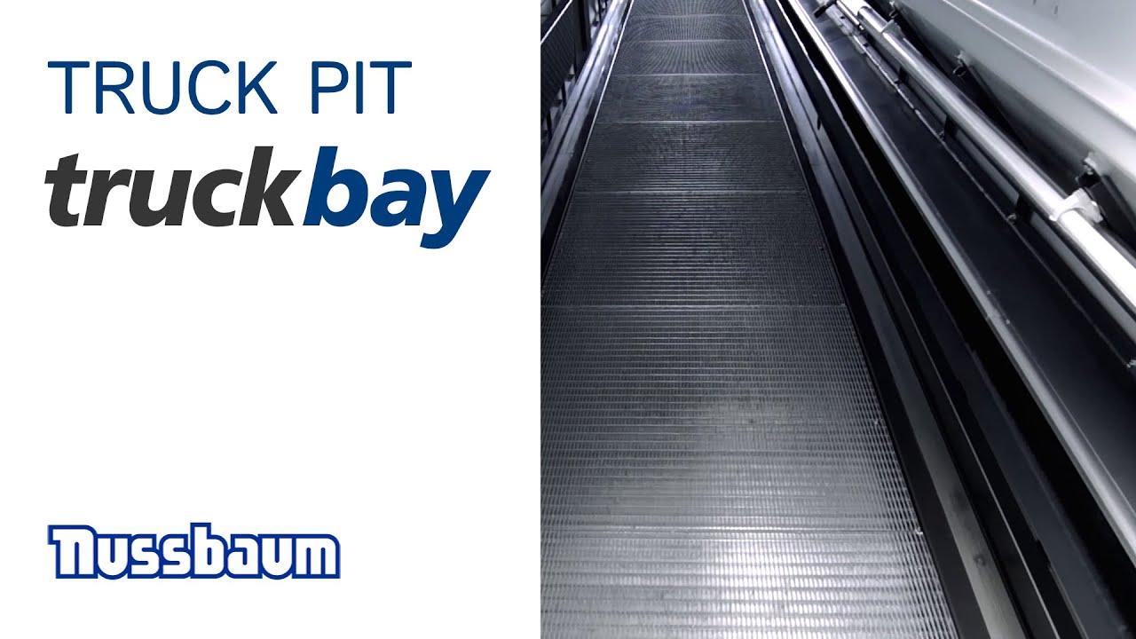 Maintenance pit TRUCK BAY - Prefabricated