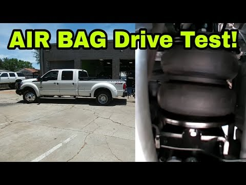 Air Lift Load Lifter 5000 Airbags, First drive impression!