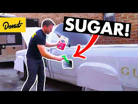 semi truck fuel tank repair