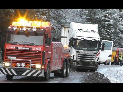 semi truck road service