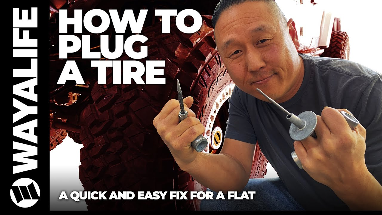How to Fix a Flat Using a Tire Plug to Repair a Puncture on a Jeep Truck or Car with Ease