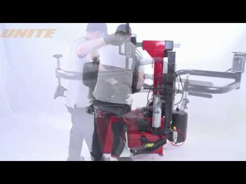 UNITE U236A Semi-automatic Tilt Back Tower Motorcycle & Automotive Tire Changer