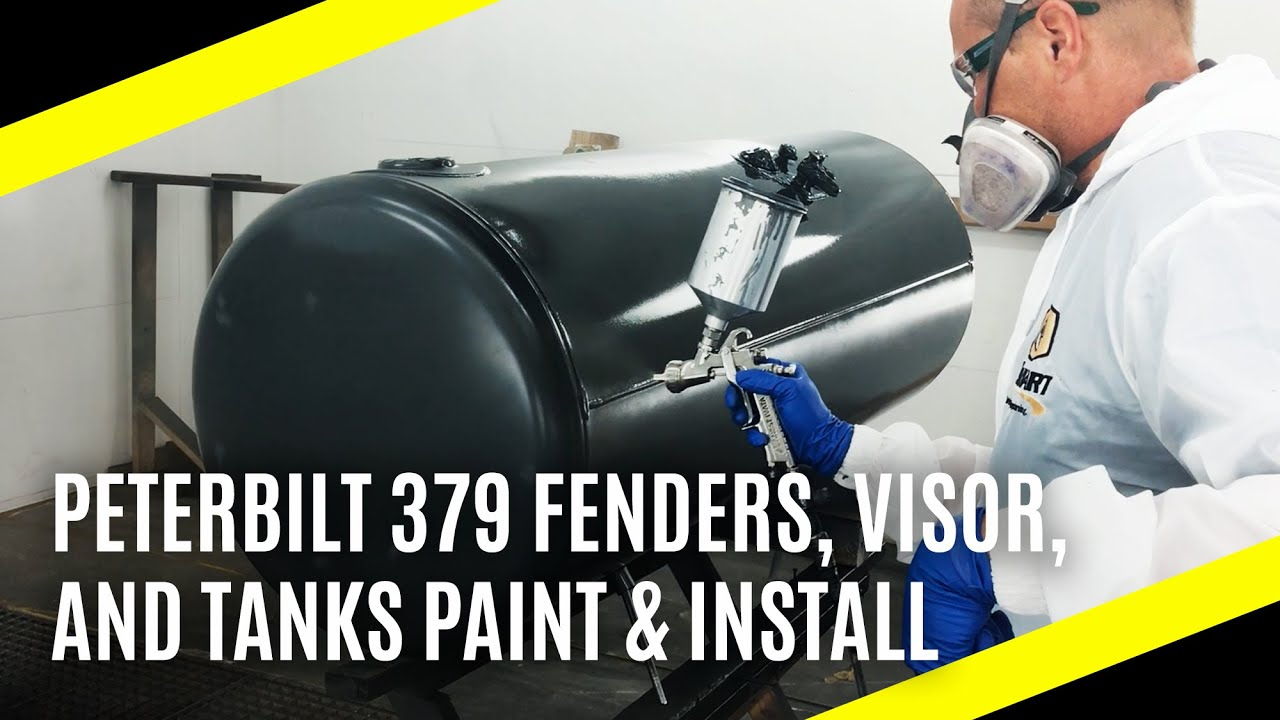 Peterbilt 379 | Paint Installation at Big Rig Chrome Shop