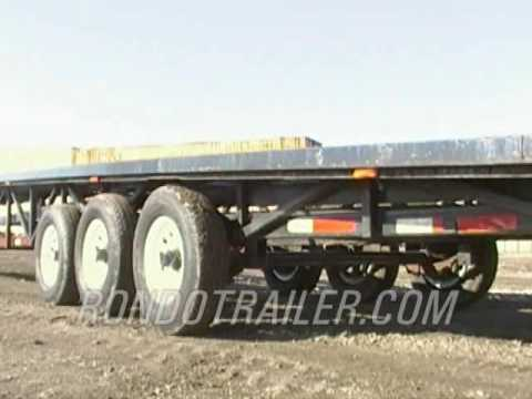 USED TAKE 3 GOOSENECK WEDGE TRAILER 20K GVW NEW WHEELES, TIRES & AXLE SOLD.We have more!