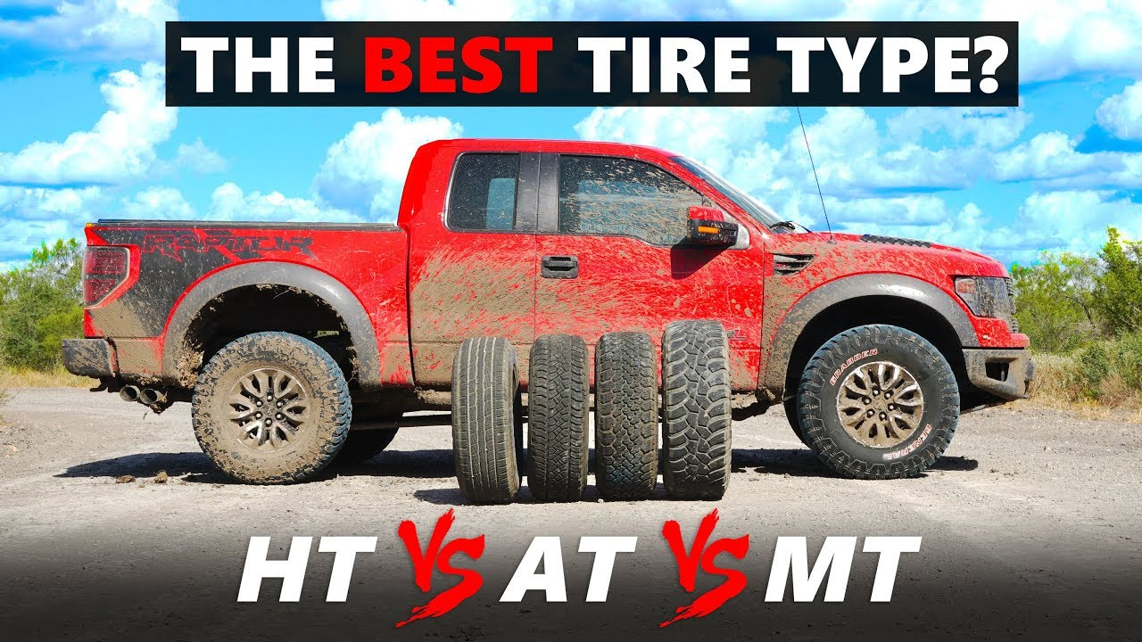 H/T vs A/T vs M/T tested - The best type of tire for your SUV / Pickup truck?