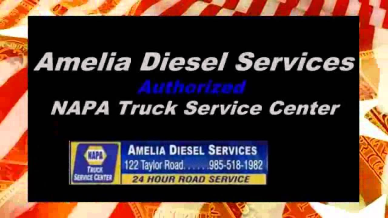 Amelia Diesel Services Morgan City LA | Truck and Tire Repair 24 Hour Roadside Assistance