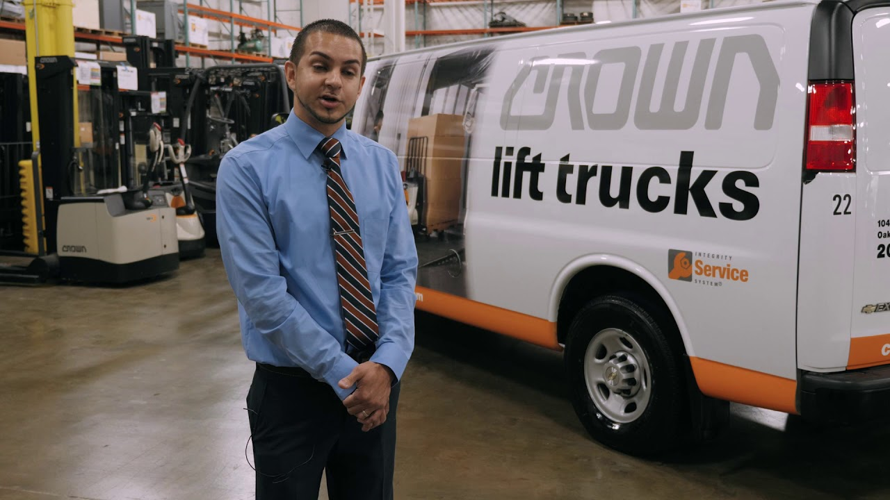 Crown Lift Trucks Field Service Manager Oscar Sotomayor on Diesel