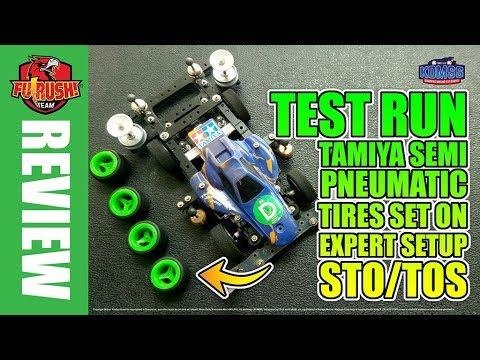 ミニ四駆 REVIEW Tamiya Semi Pneumatic Tires (TOS/STO/Expert Class)