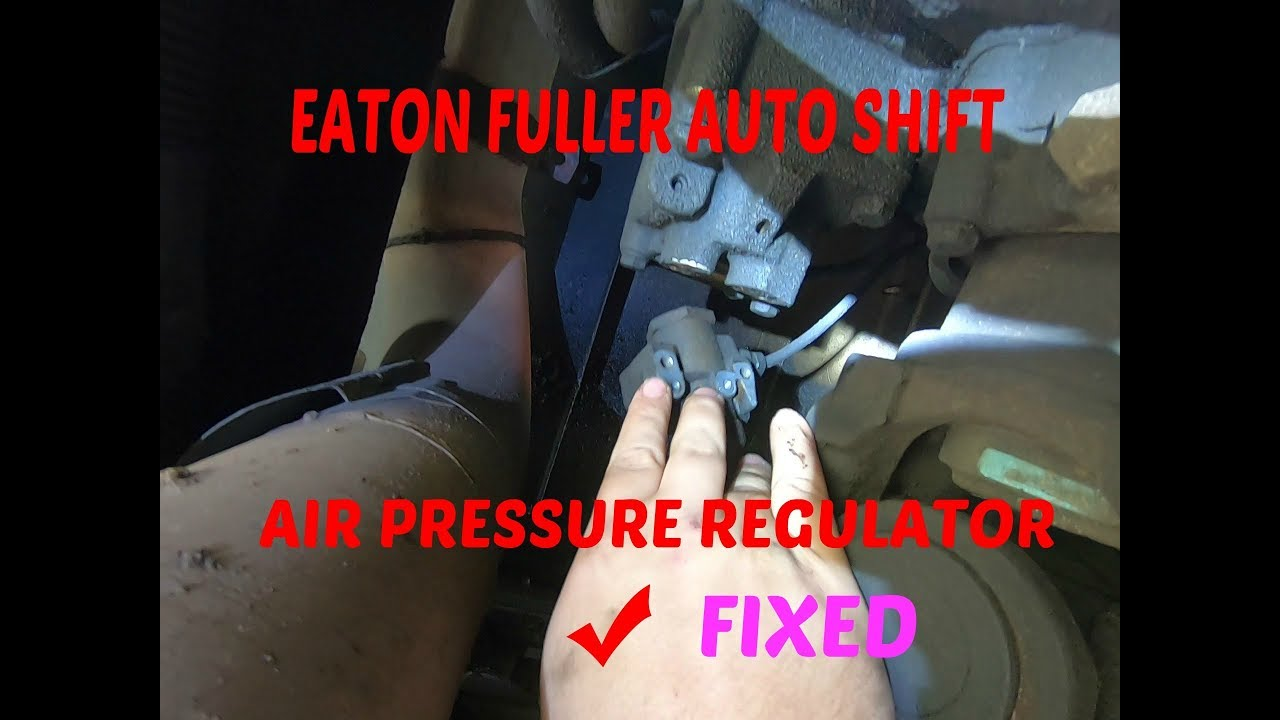 Kenworth shifting hard, How to replace air pressure regulator on an Eaton Fuller auto shift
