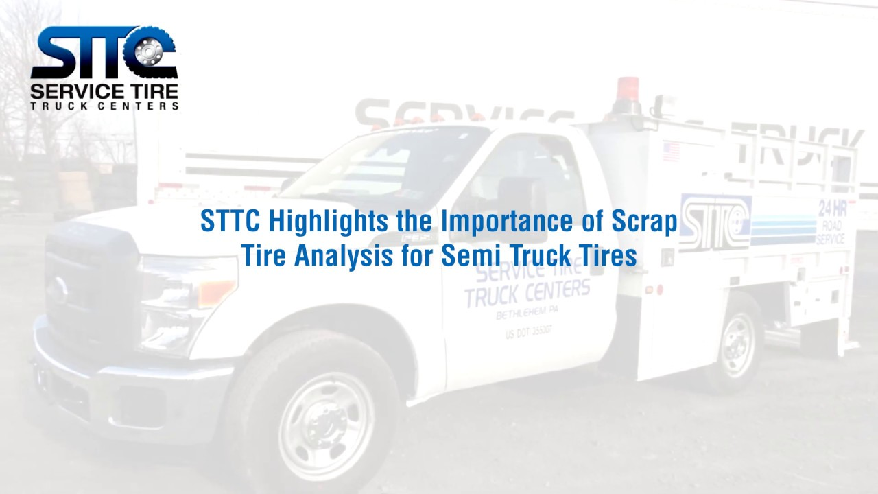STTC Highlights the Importance of Scrap Tire Analysis for Semi Truck Tires
