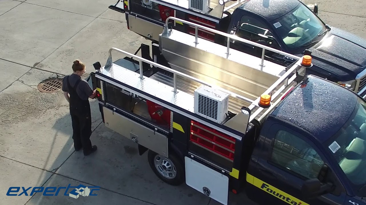 Fountain Tire Truck Service Bodies & Liftgate | Installed by Expertec