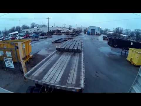 #304 New Trailer Tires The Life of an Owner Operator Flatbed Truck Driver Vlog