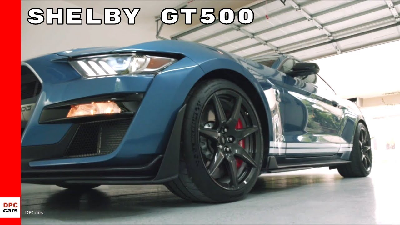 2020 Mustang Shelby GT500 Commercial Trailer