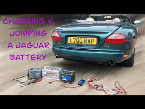 Battery Charging & Jump starting your XK8 XKR and X308