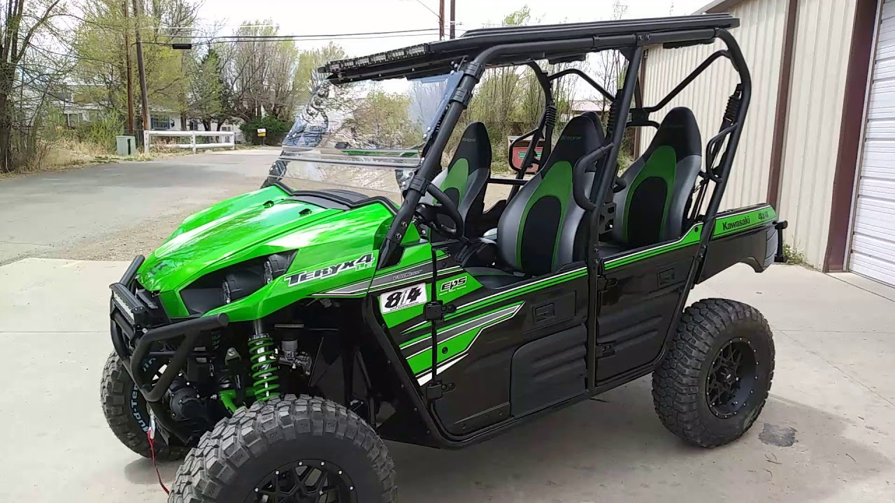 """2018 Teryx 4 30"""" BFG KM2 tires, ProBox top and much more!"""