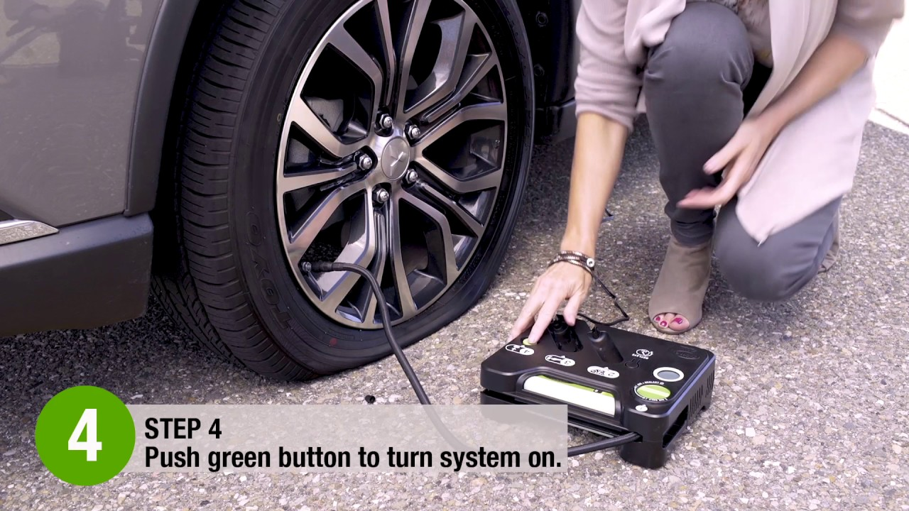 How To Use The Slime Flat Tire Repair Kit