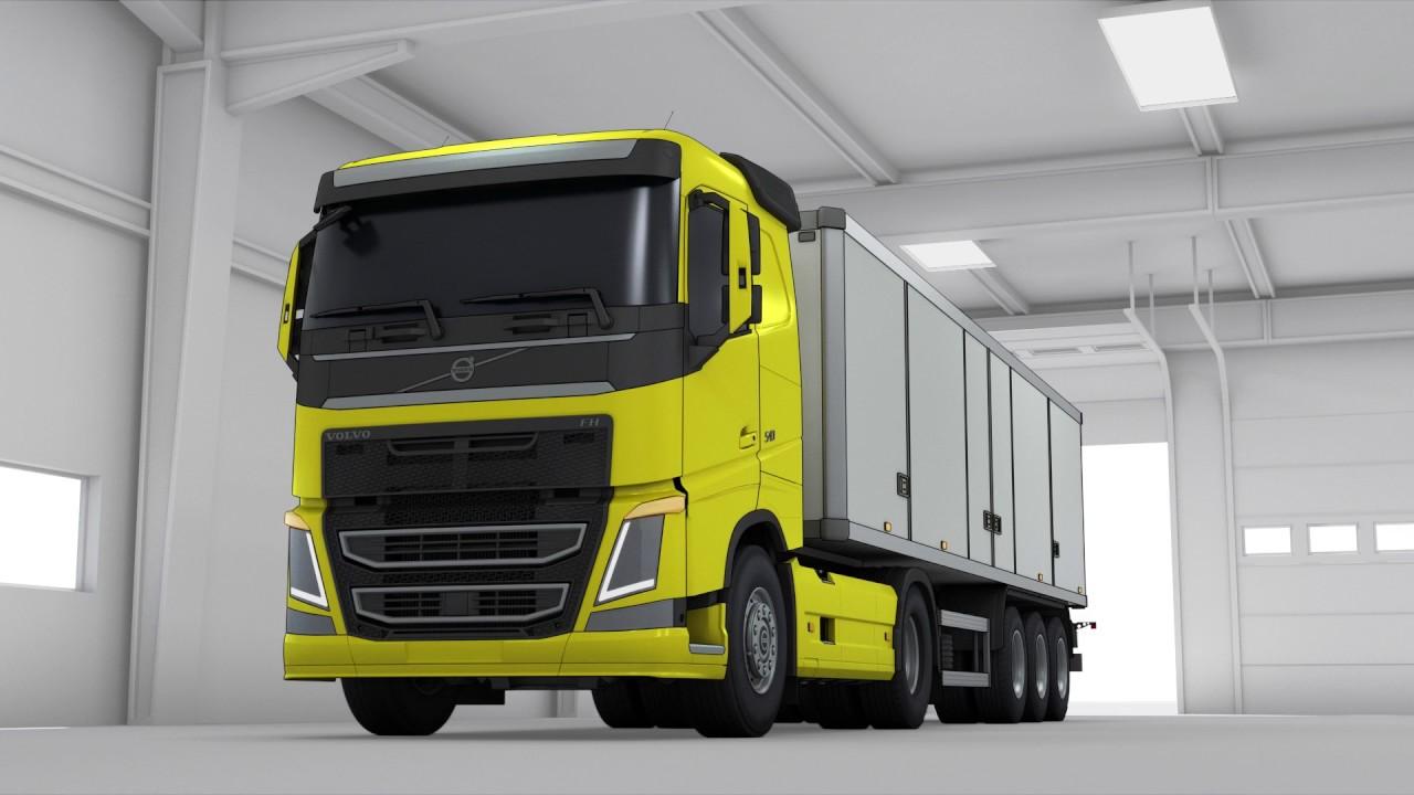 Volvo Trucks - Tyre pressure monitoring explained