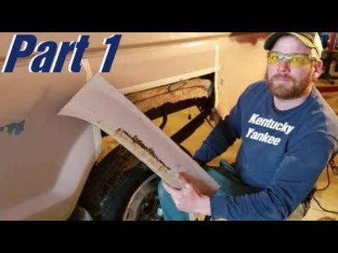 How to REPAIR a RUSTY Truck Bed ! #rusty #junk
