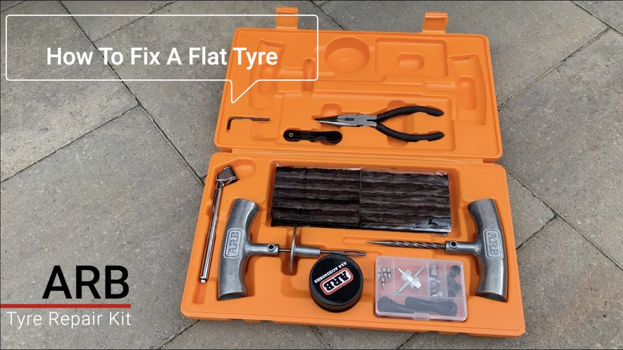 ARB TYRE REPAIR KIT: HOW TO PLUG A PUNCTURED TYRE