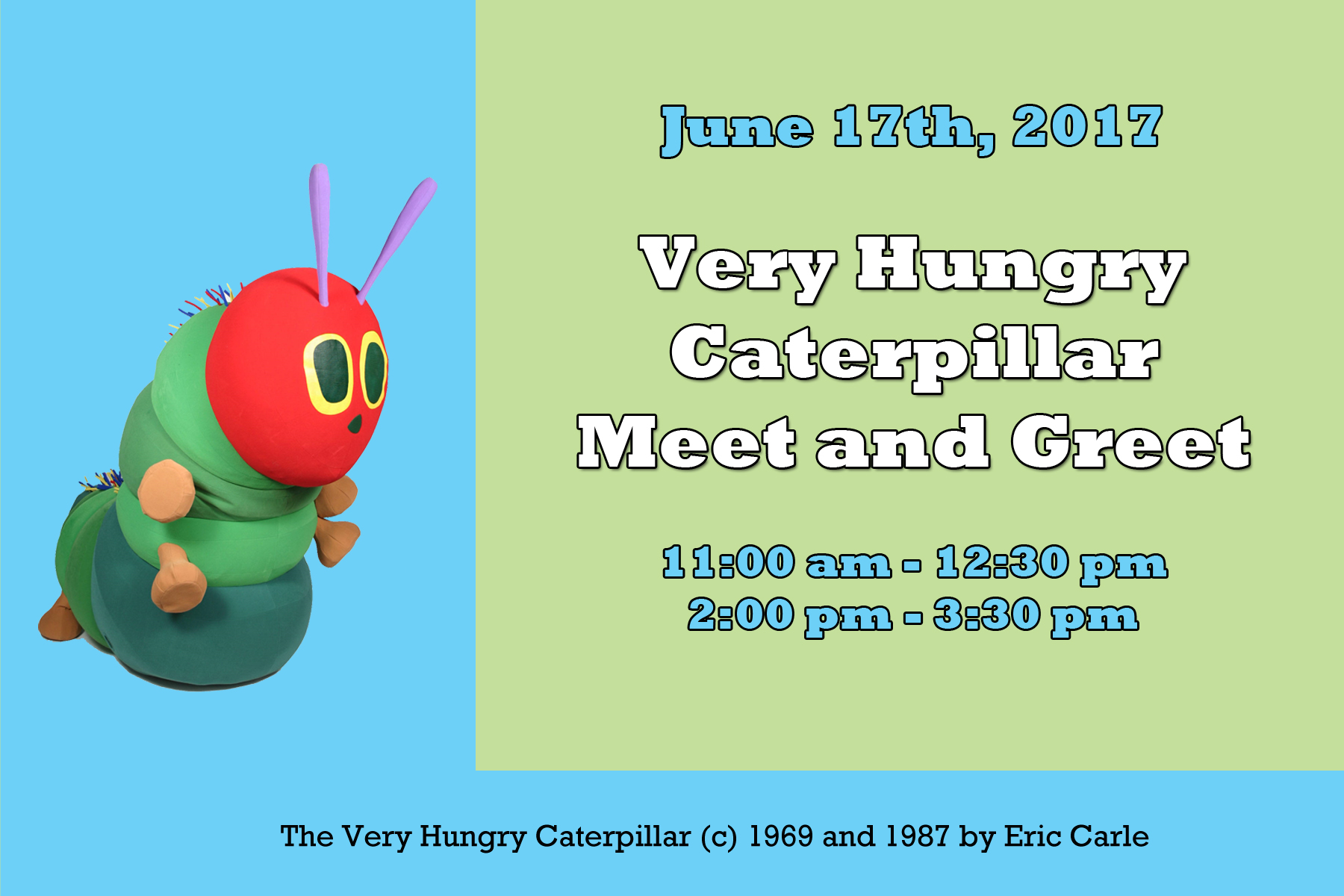 2017 05 the very hungry caterpillar lesson plans - Very Hungry Caterpillar Meet And Greet Kansas Children S Discovery Center