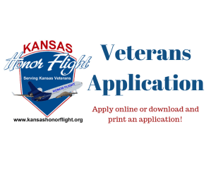 Kansas Honor Flight Veterans Application