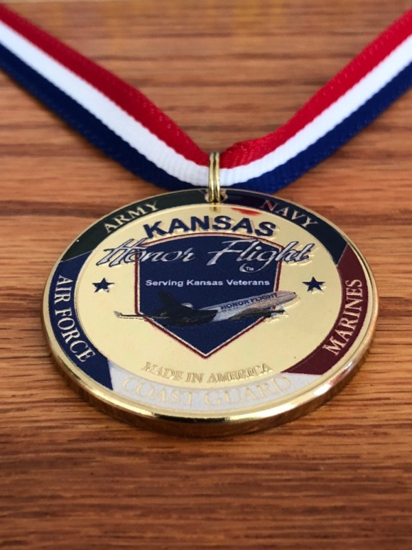 KHF Challenge Coin Necklace Front 1
