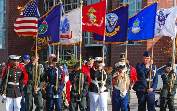 Veterans Day Parade Wichita 1